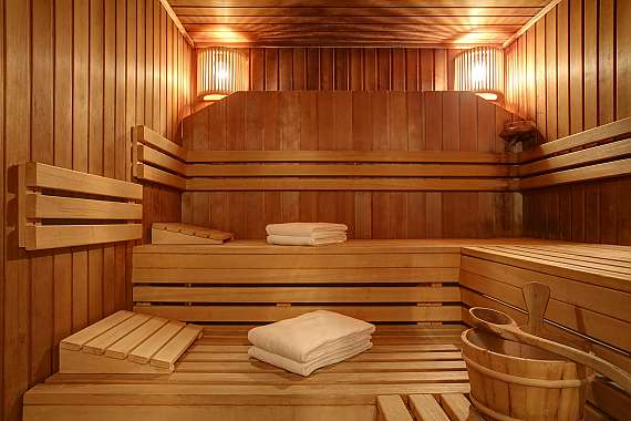 Relax in the Finnish sauna at the Centro Hotel Esplanade