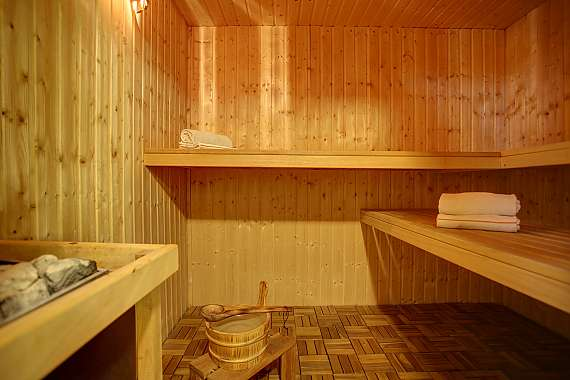 Favour for body and soul in our sauna