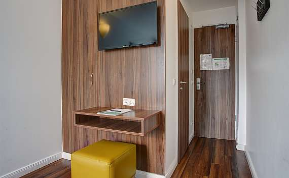 A double room at Centro Hotel North in Hamburg