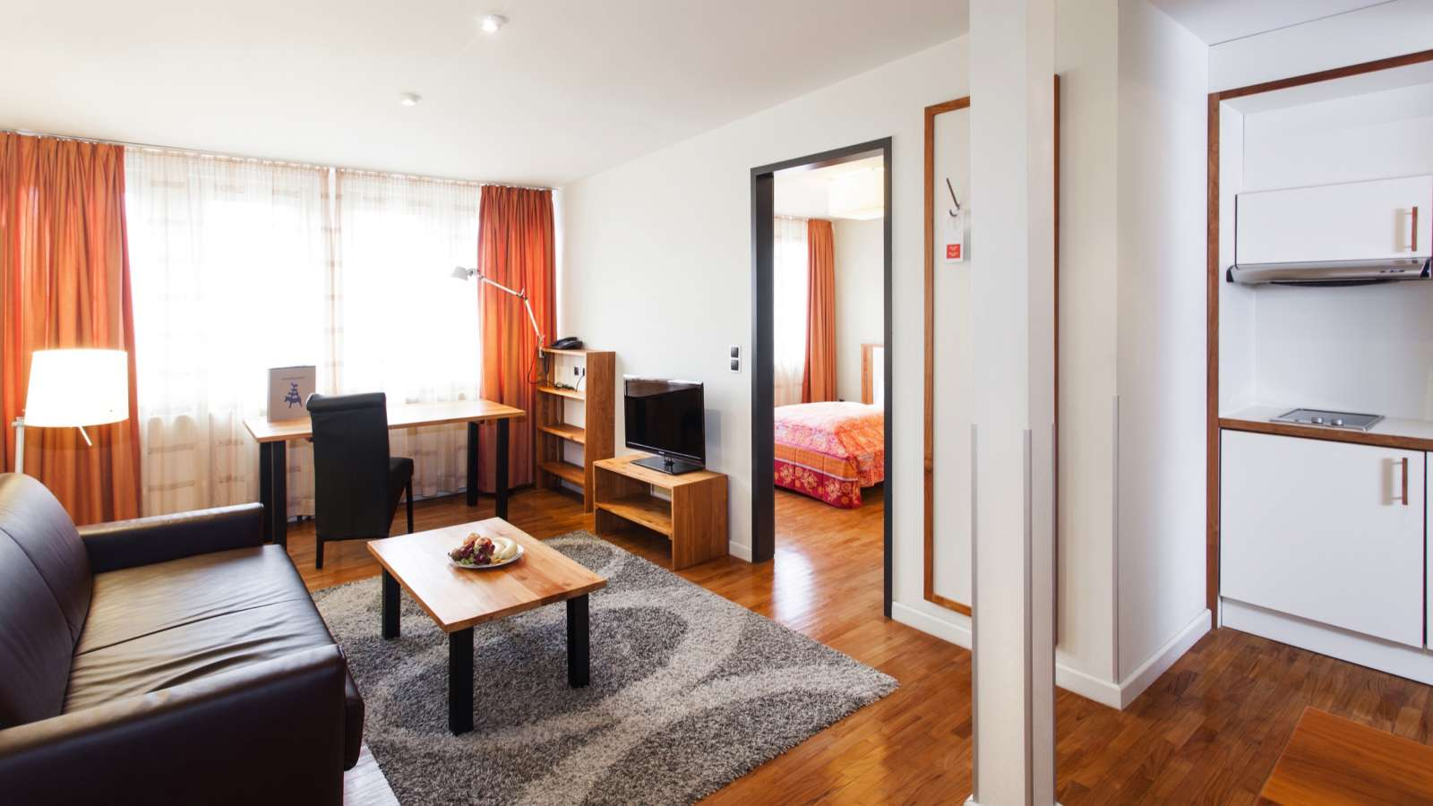 An apartment at Centro Hotel Domicil 31 in Bremen