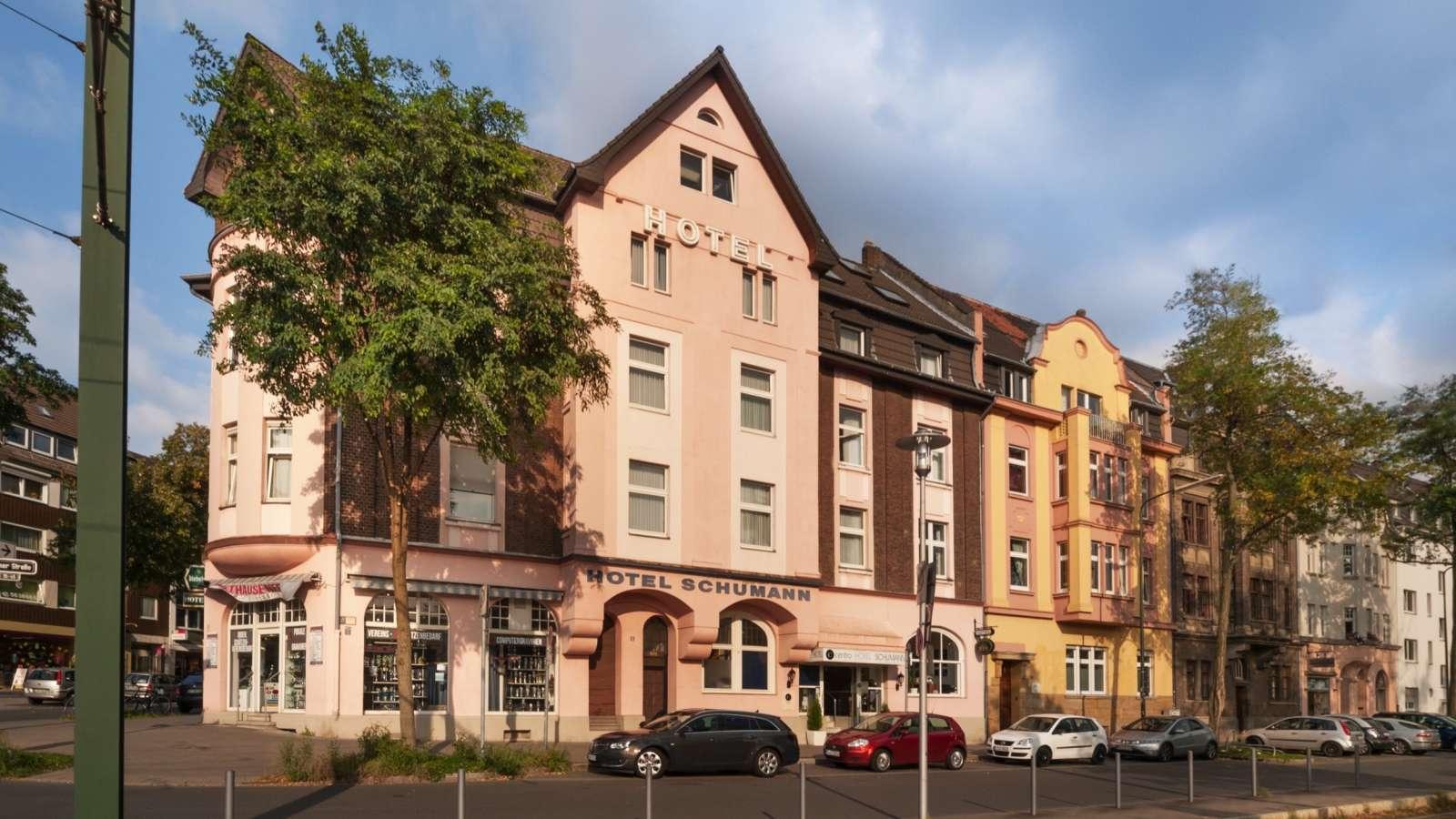 Centro hotel schumann in d sseldorf for Hotel bremen bielefeld