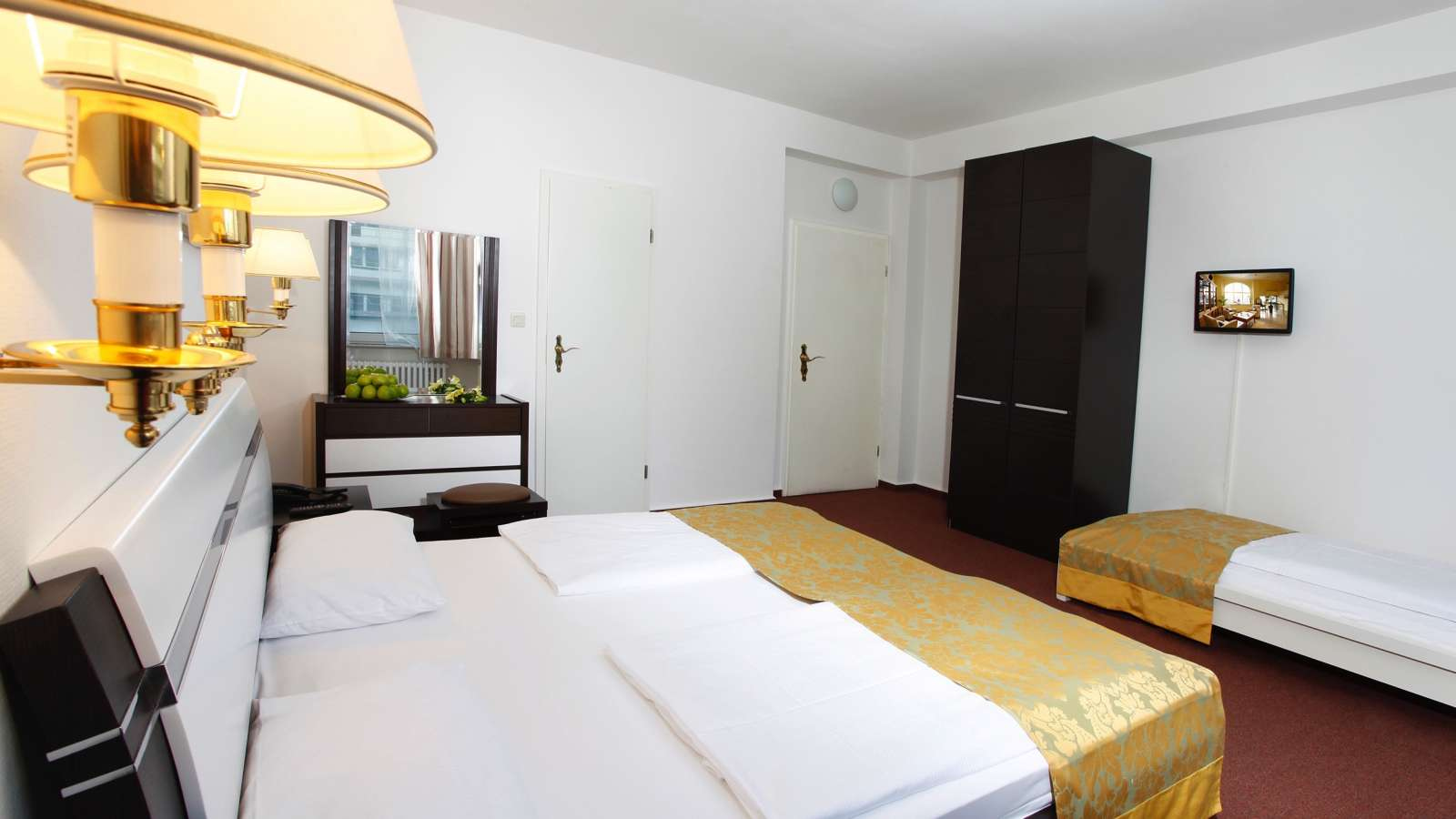 A double room at Centro Hotel Citygate in Hamburg