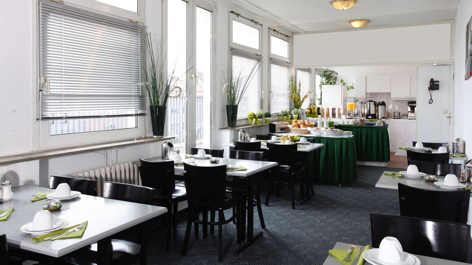 The breakfast room of Centro Hotel Citygate in Hamburg