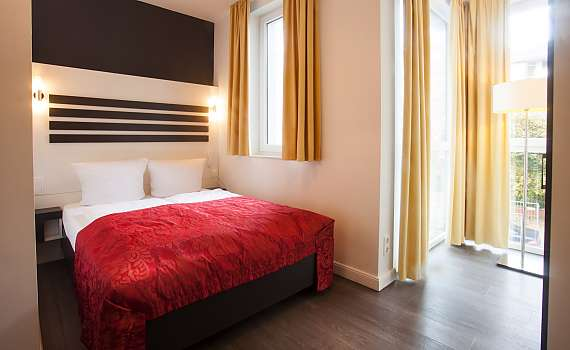 A double room at Boutique 072 Hamburg St. Georg