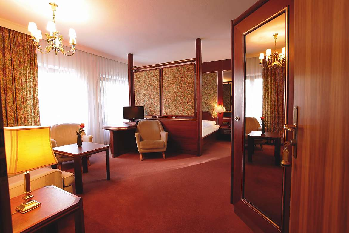 A double room at Centro Hotel Klee am Park in Wiesbaden