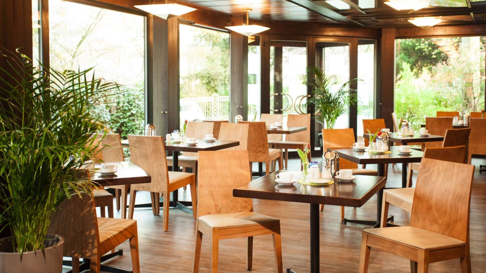 The breakfast room of Centro Hotel Klee am Park in Wiesbaden