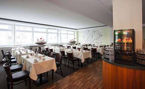 The breakfast room at Best Western Hotel Bremen City