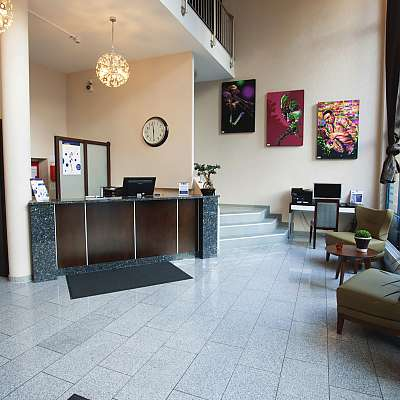 Lobby im Best Western Hotel Hannover City