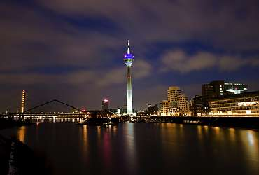 You can best experience Düsseldorf at night by booking with Centro Hotels - always well located!