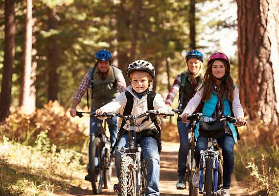 Explore the city and its surroundings with the whole family - whether on foot or by bike, Centro Hotels are always centrally located.