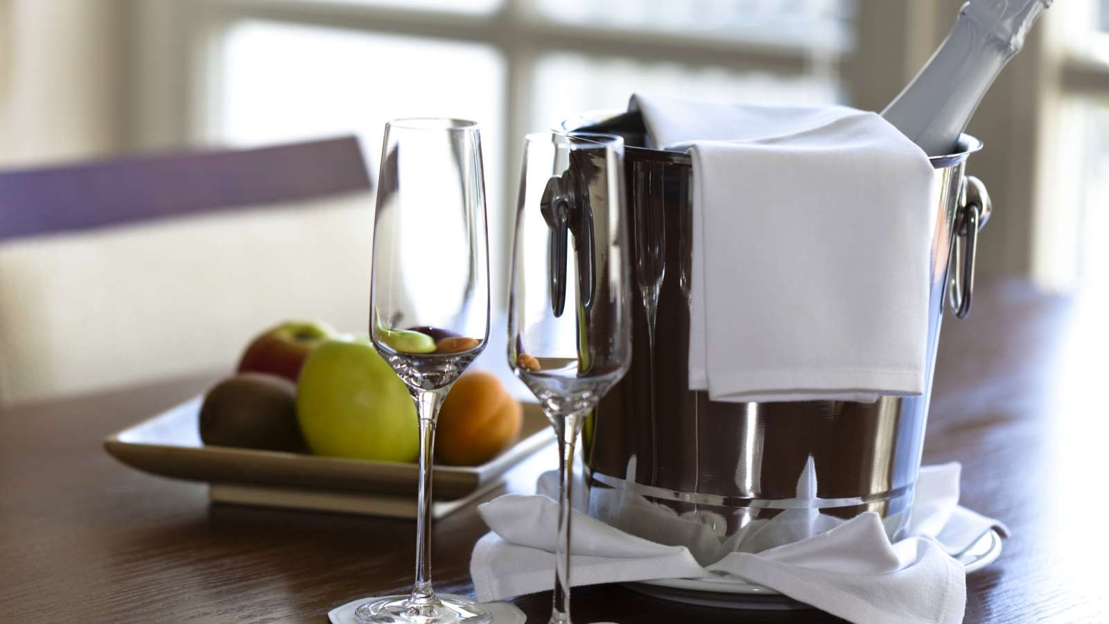 Book the Centro Hotel Celebration Package, including sparkling wine and a fruit basket!