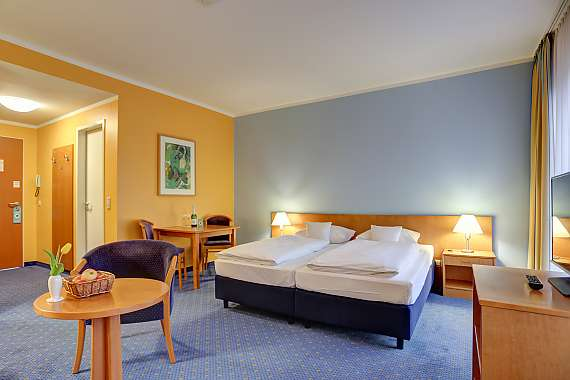 Centro Park Hotel is ideally located for trade fair visitors to Berlin