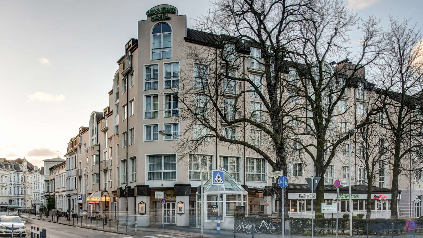 The popular 4-star Hotel Hotel Residence in Bonn